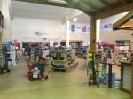 Inside our premises.