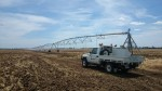 Our Irrigation technicians out in the heat repairing the pumping system for a centre pivot.